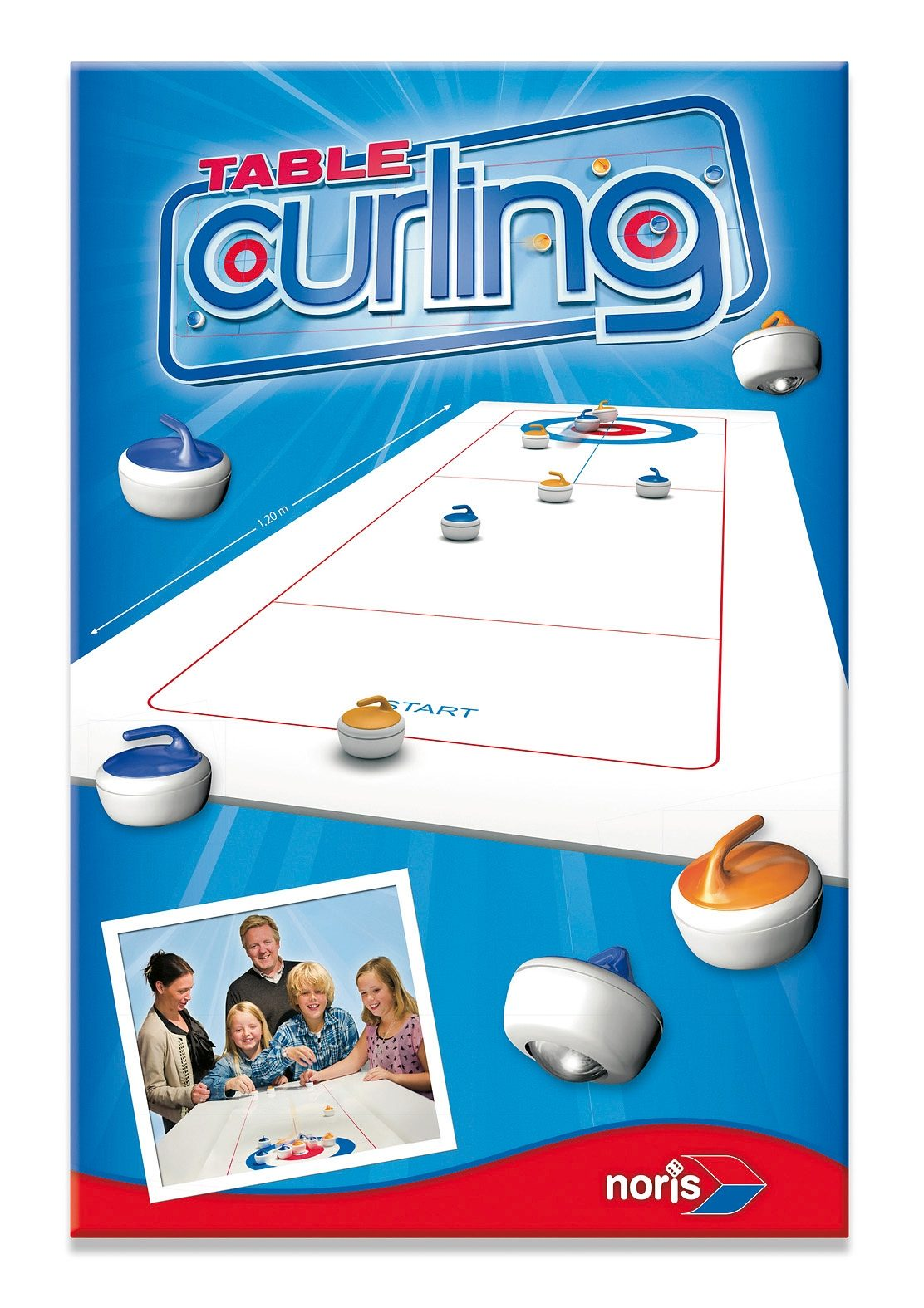 Noris Gesellschaftsspiel, »Tisch Curling«
