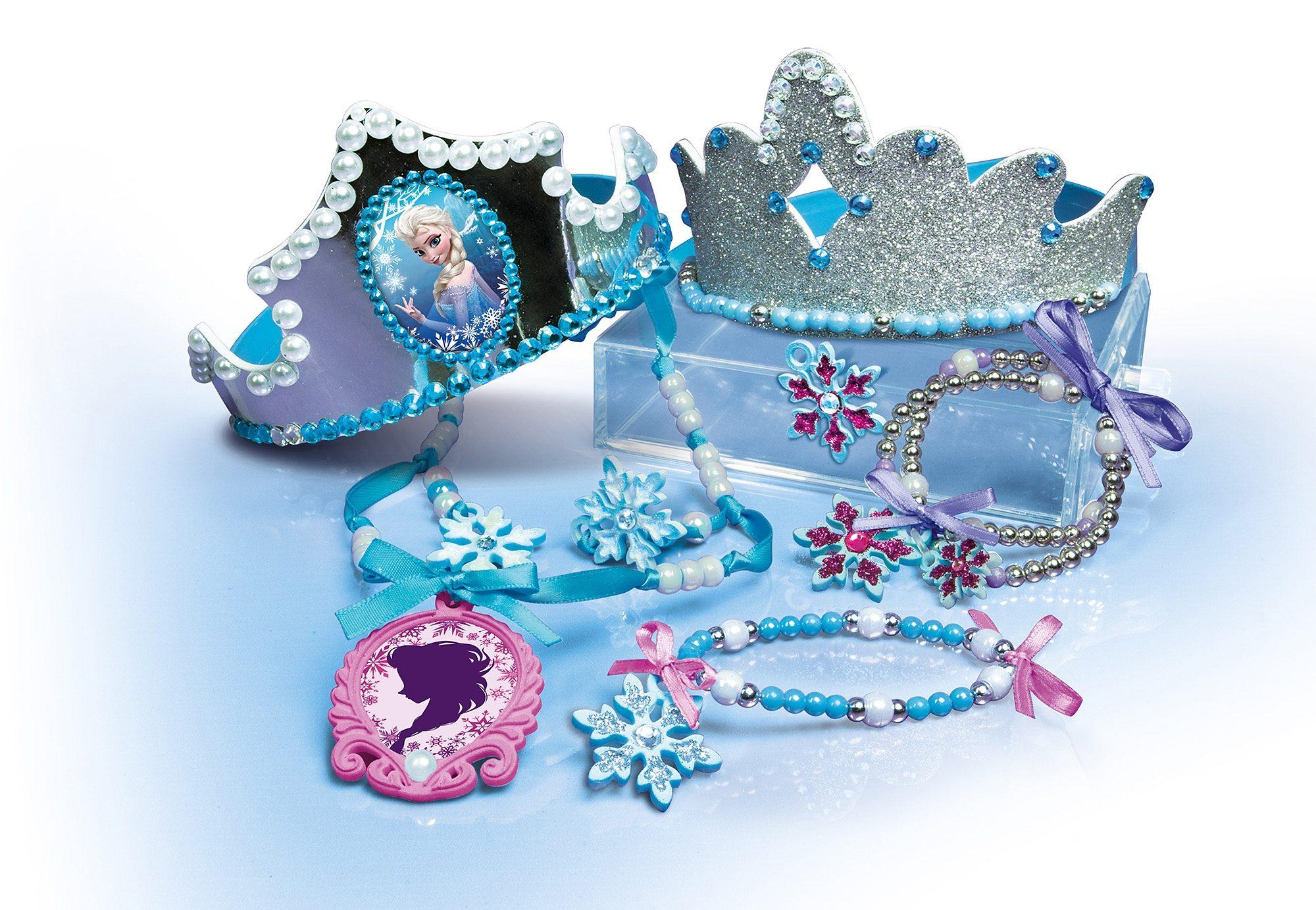 Clementoni Kreativ-Set, »Disney Frozen - Funkelnde Kronen«