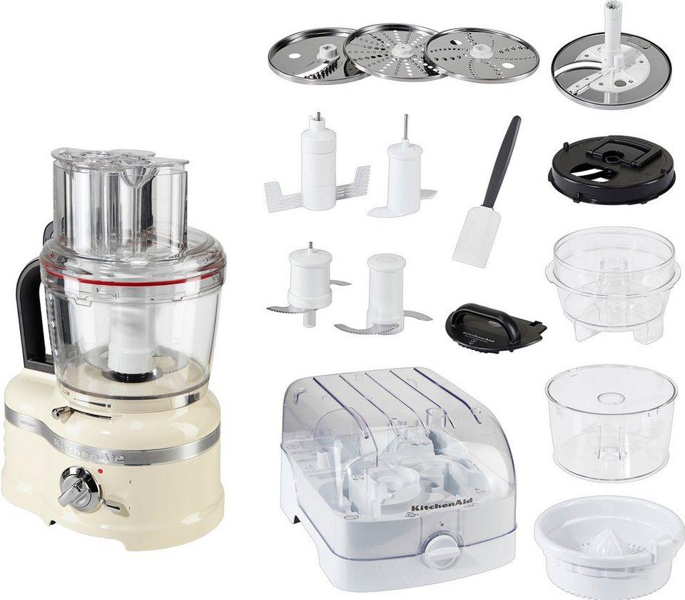 4 Liter KitchenAid Food Processor Artisan 5KFP1644EAC in crème