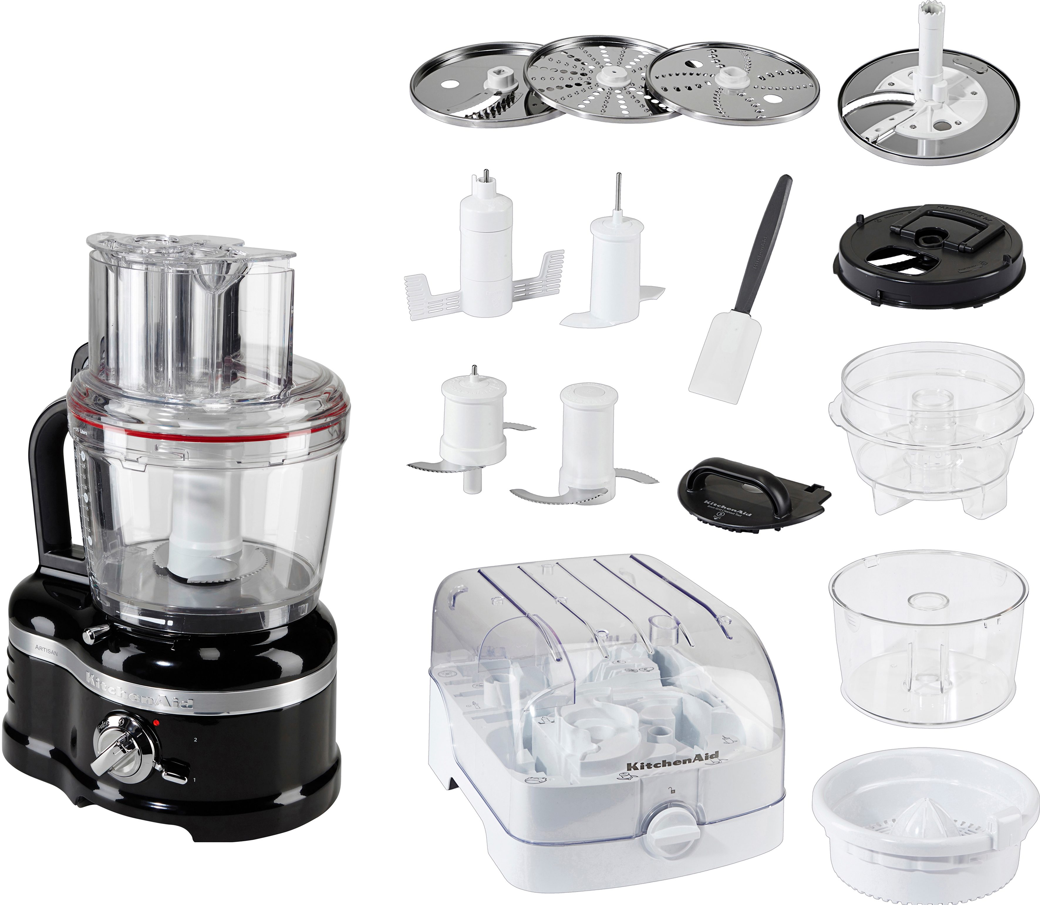 4 Liter KitchenAid Food Processor Artisan 5KFP1644EOB
