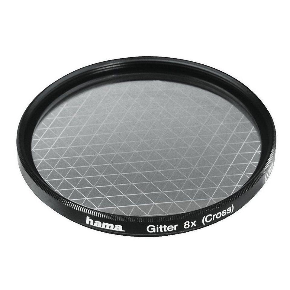 Hama Effekt-Filter, Gitter, 8x, 58,0 mm