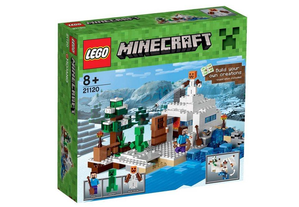 LEGO® Versteck im Schnee (21120), »LEGO® Minecraft™«