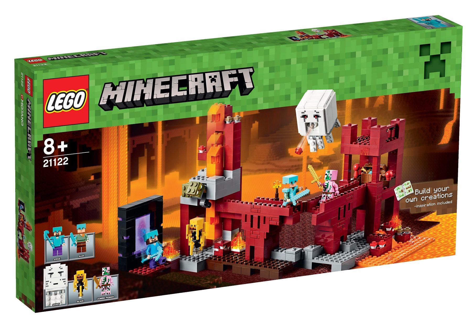 LEGO® Die Netherfestung (21122), »LEGO® Minecraft™«