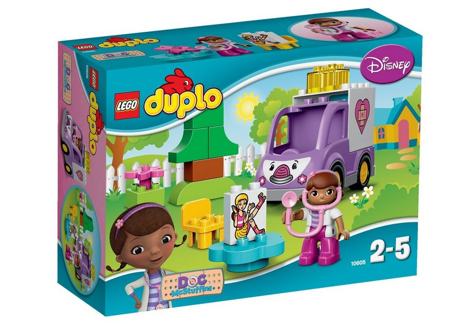 LEGO® Rosie der Krankenwagen (10605), »LEGO® DUPLO®«