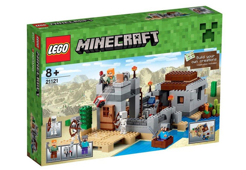 LEGO® Wüstenaußenposten (21121), »LEGO® Minecraft™«