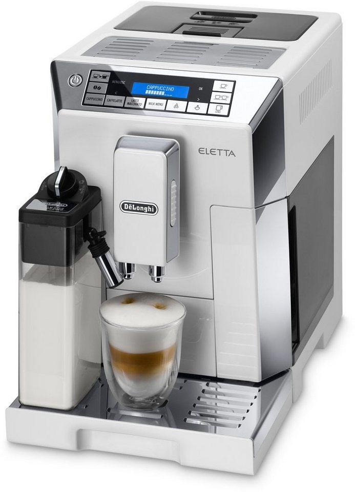 De'Longhi Kaffeevollautomat »ECAM 45.766 W« in Hochglanz-Weiß / Edelstahl glänzend
