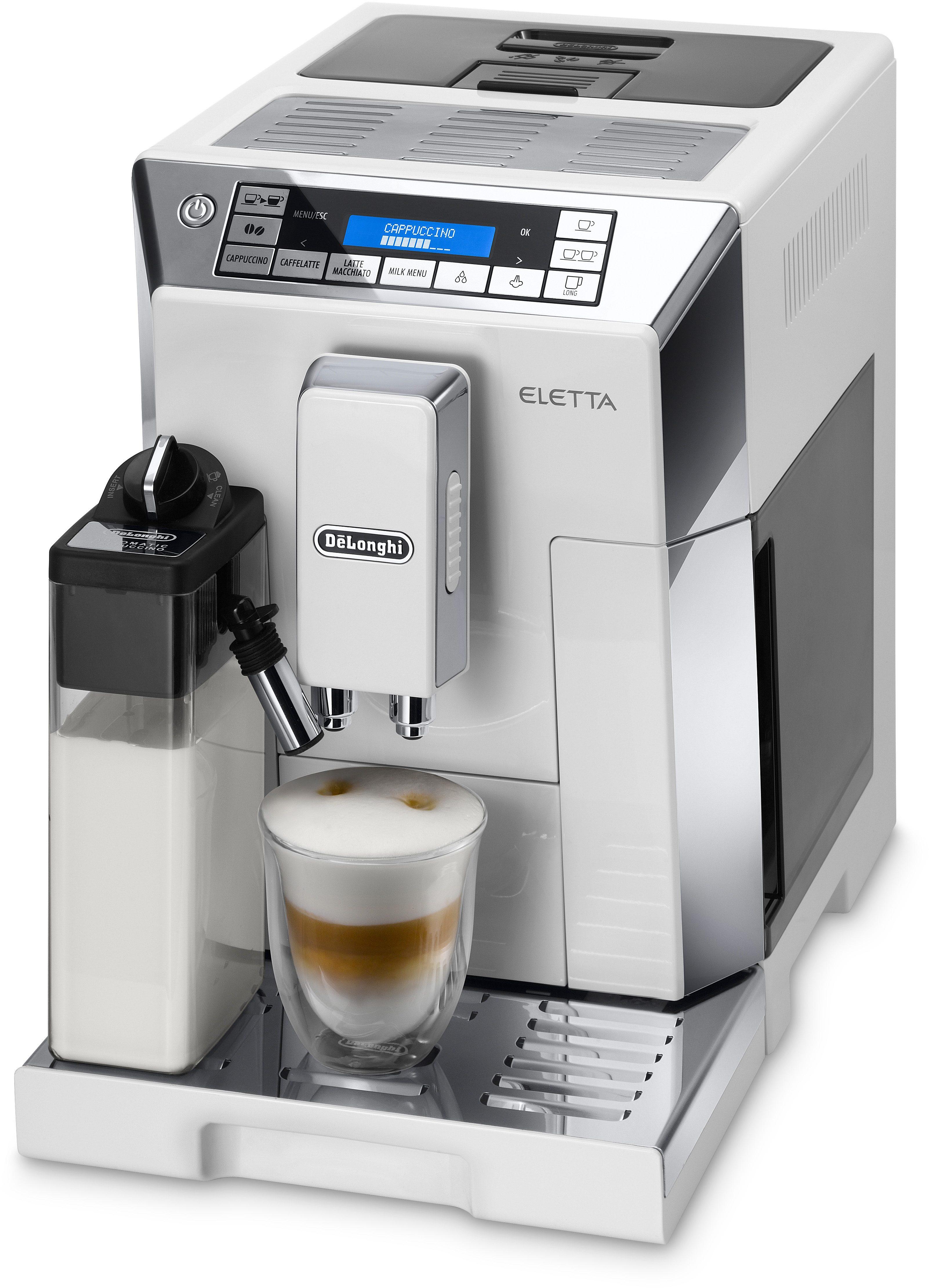 De'Longhi Kaffeevollautomat »ECAM 45.766 W« ELETTA