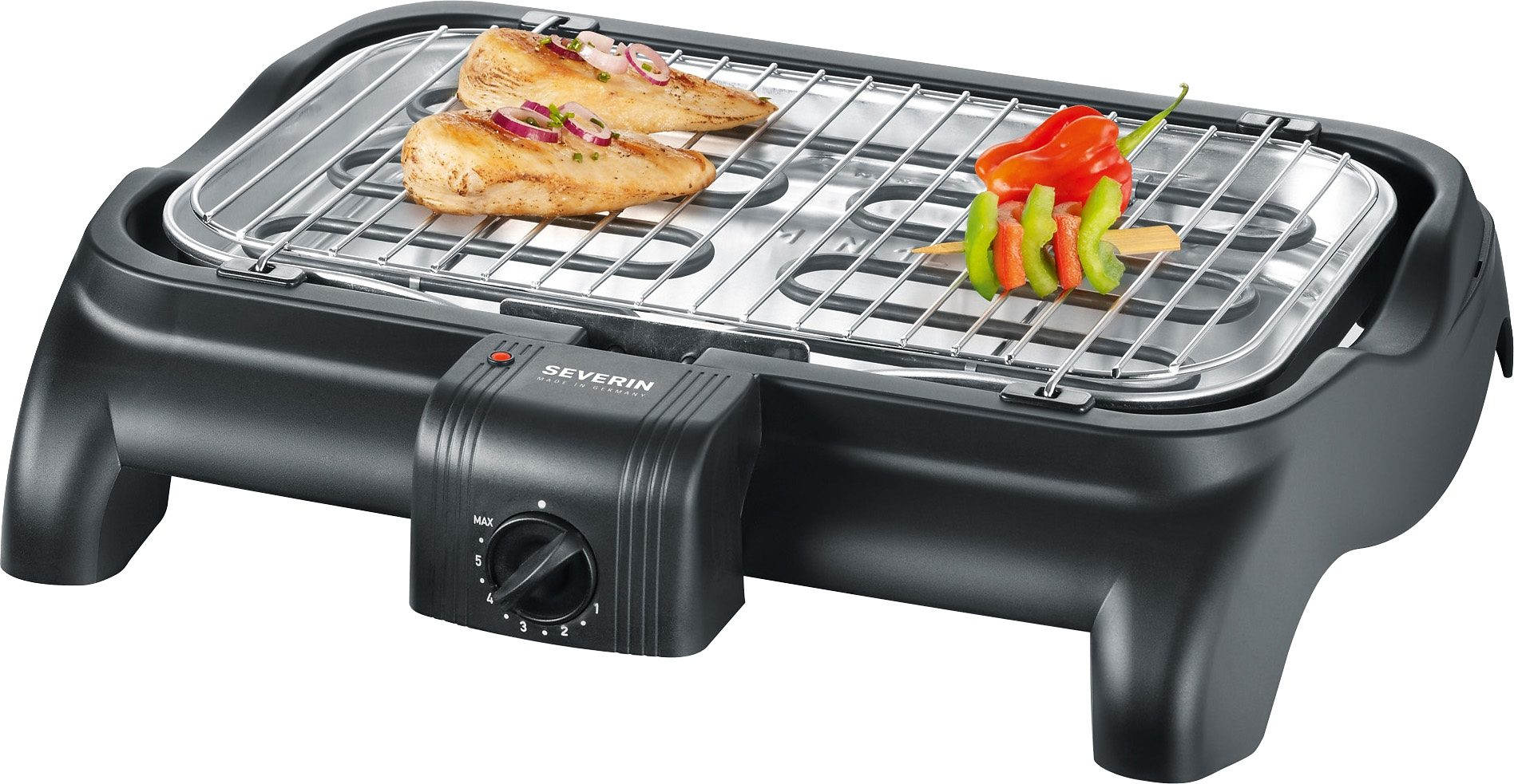 Severin Tischgrill / Barbecue- Grill»PG 1511«, 2300 Watt, made in Germany