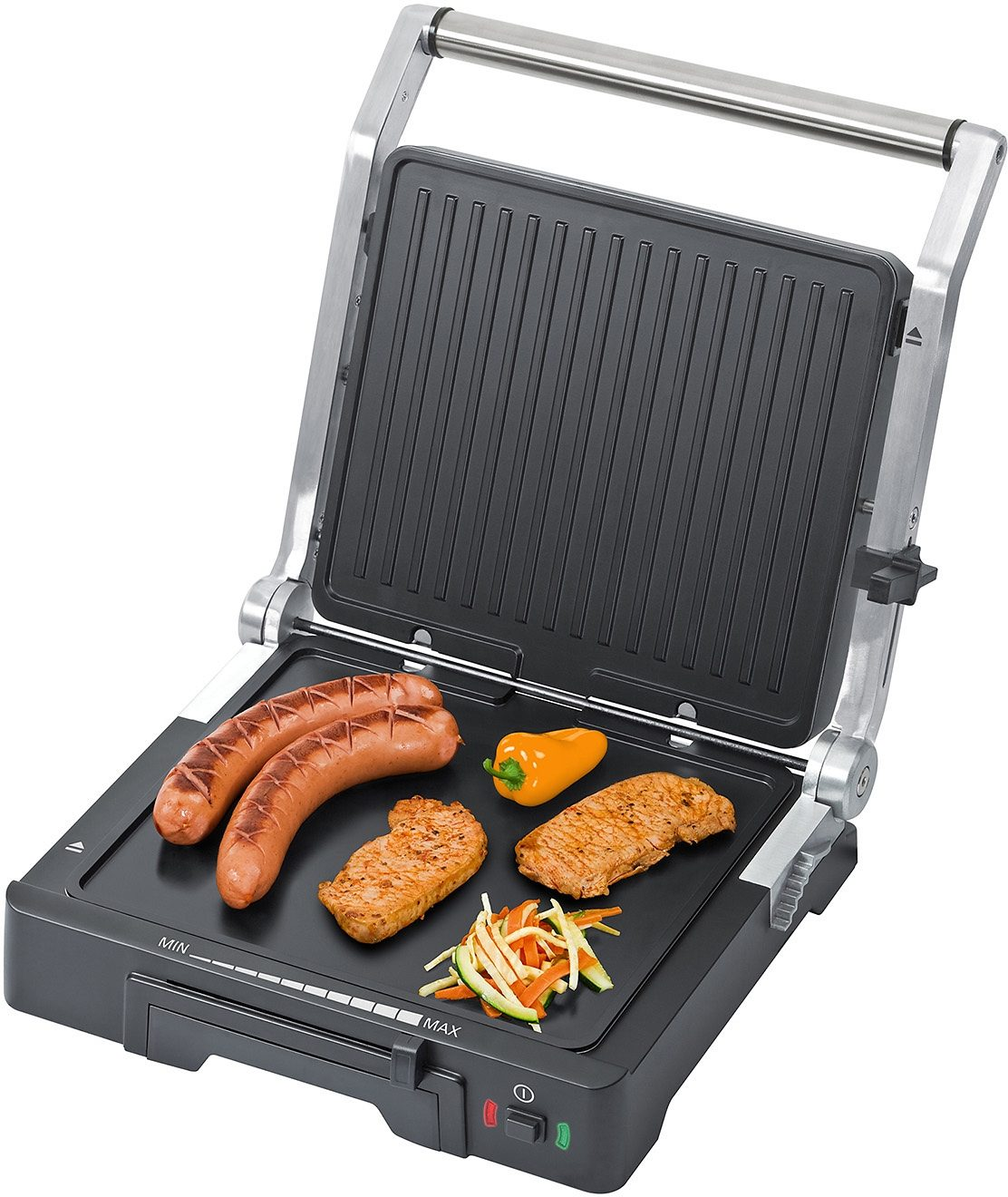 Steba Kontaktgrill FG 70, 1800 Watt, mit Low-Fat-Funktion
