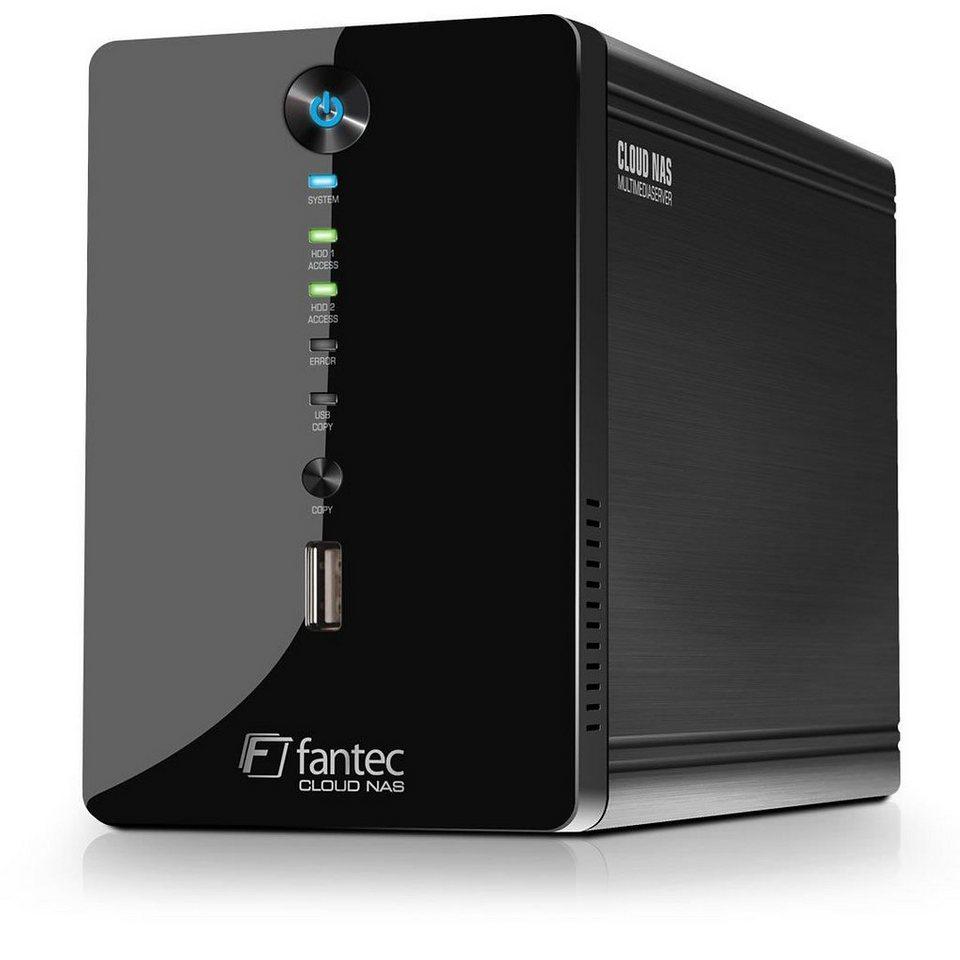 FANTEC Cloud NAS Multimediaserver » CL-35B2 Gigabit (1558)« in schwarz