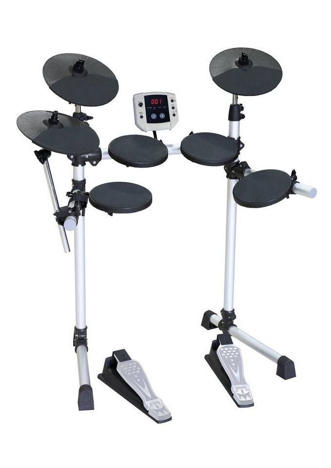 Voggenreiter Elektronisches Schlagzeug, »E-Drum-Set« in schwarz