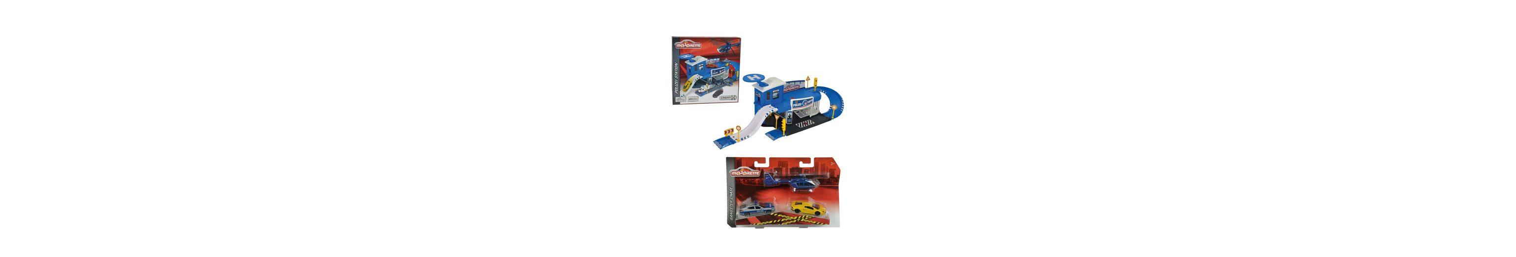 Dickie Spiel-Set Polizeistation mit Zubehör, »Polizei Garage Set«