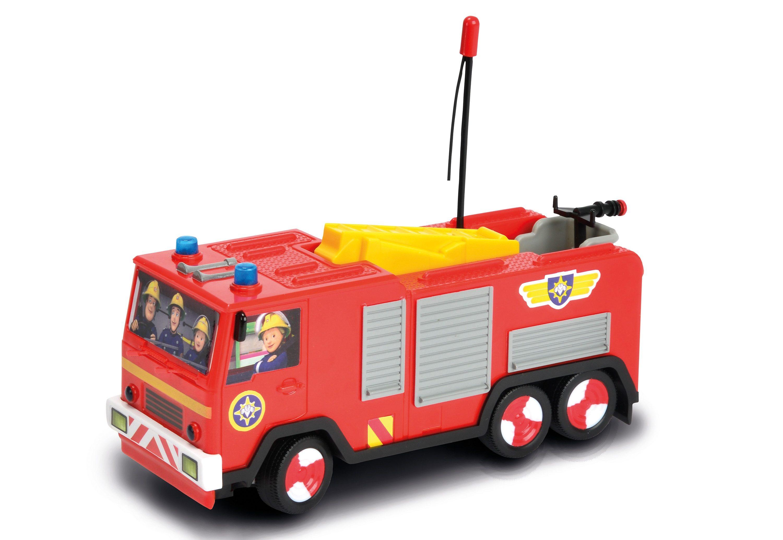 Dickie Toys RC-Auto mit Licht und Sound, »Feuerwehr Sam Jupiter«