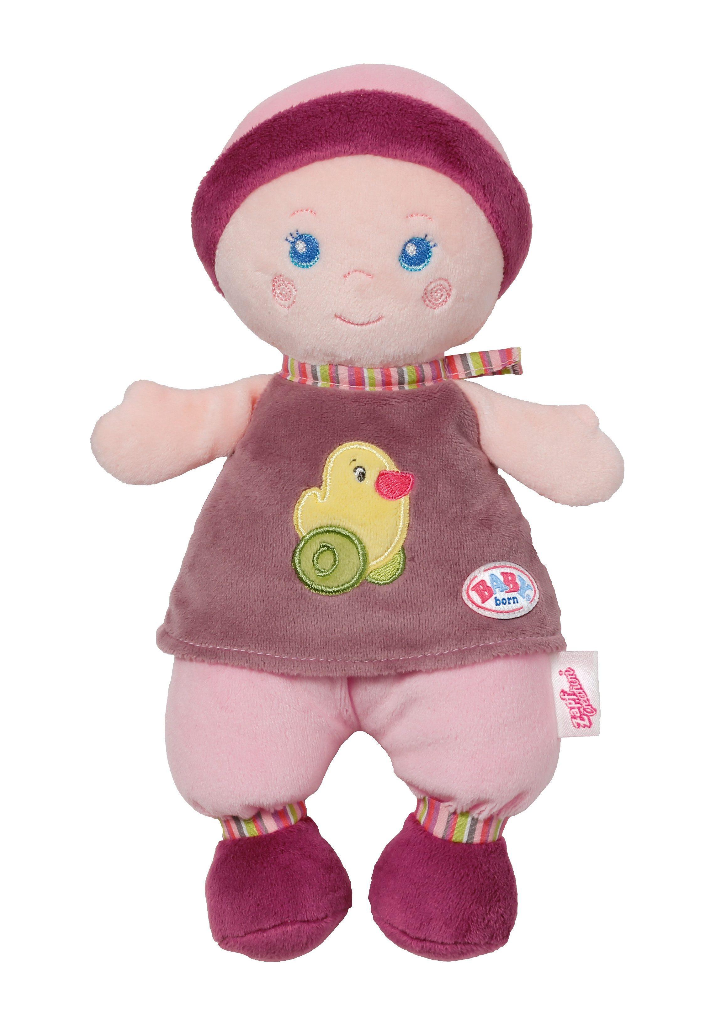 Zapf Creation Puppe aus Plüsch, »BABY born® for babies - Spielpuppe groß«