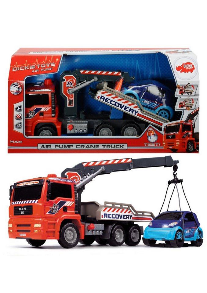 Dickie Spielzeugauto Abschleppwagen »Air Pump Crane Truck«