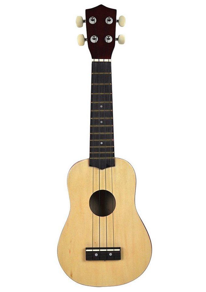 Voggenreiter Gitarre, »4-Saitige Mini-Gitarre / Ukulele« in natur