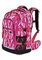 4YOU Schulrucksack mit Laptop- und Tabletfach, »Jump, Chequer Pink«, Bild 2