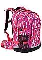 4YOU Schulrucksack mit Laptop- und Tabletfach, »Jump, Chequer Pink«, Bild 3