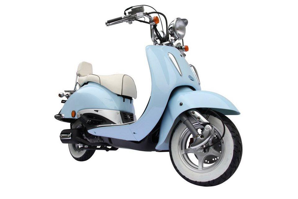 Mofa »Strada«, 50 ccm, 25 km/h in blau
