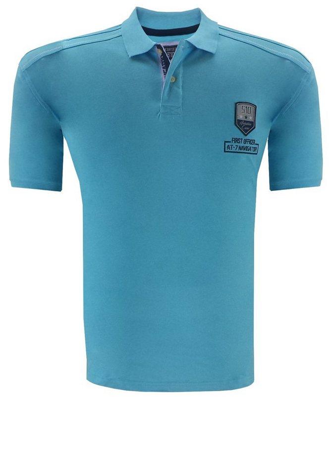 redfield Poloshirt in Blau