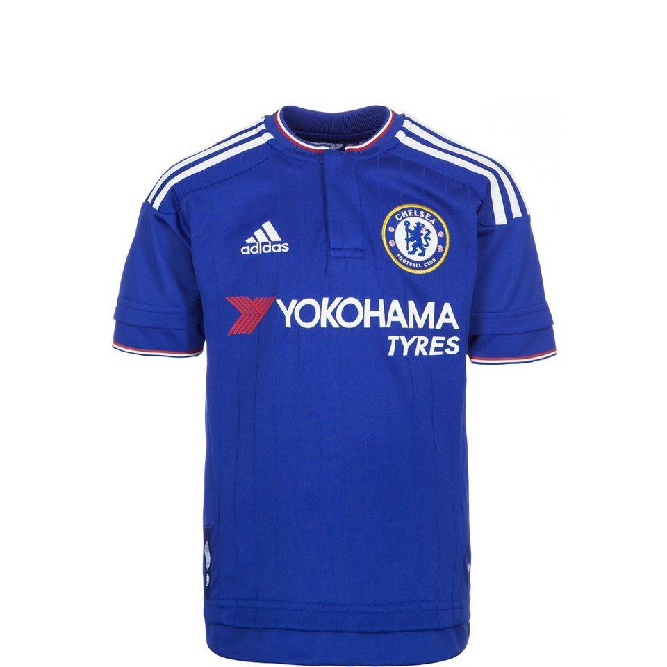 adidas Performance FC Chelsea Trikot Home 2015/2016 Kinder in blau / weiß / rot