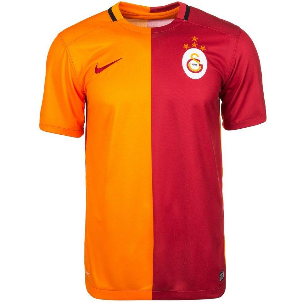 NIKE Galatasaray Istanbul Trikot Home Stadium 2015/2016 Herren in rot / orange