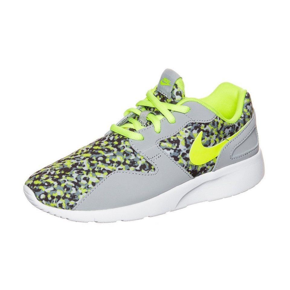 Nike Sportswear Kaishi Run Print Sneaker Kinder in grau / lime