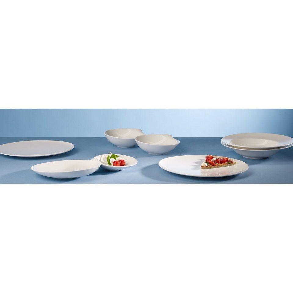 VILLEROY & BOCH Italian Food Set 7tlg. »Flow« in Weiss