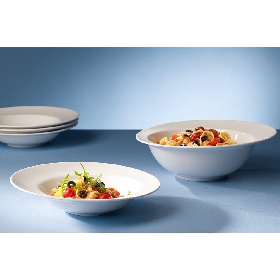 VILLEROY & BOCH Pasta Set 5tlg. »Flow« in Weiss