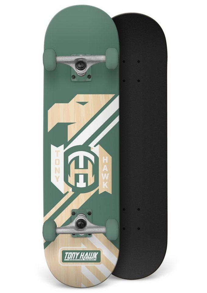 Tony Hawk Skateboard, »Militia Hedge« in grün