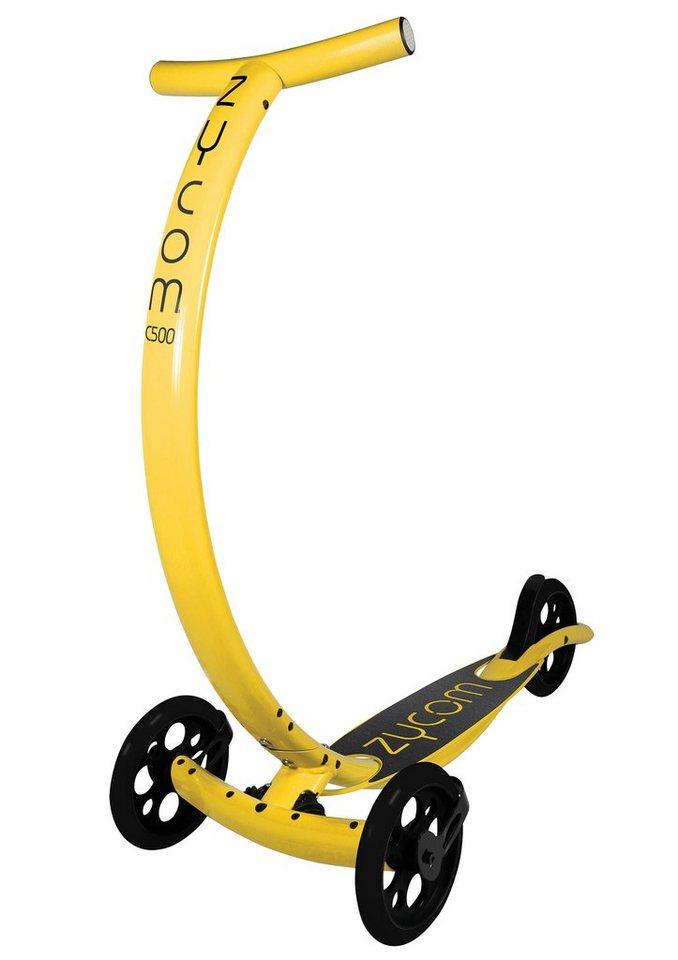 Zycomotion Scooter, »C500 Coast« in gelb-schwarz