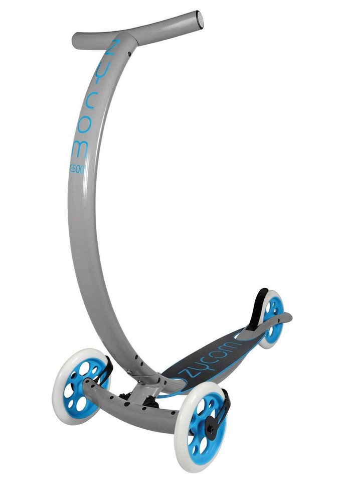 Zycomotion Scooter, »C500 Coast« in grau-blau