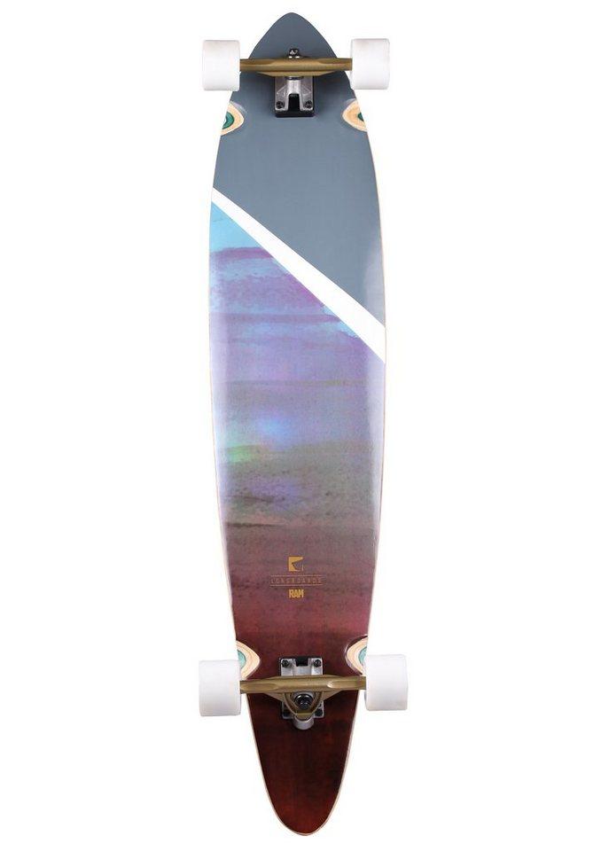 Ram Longboard, »Darga« in mehrfarbig