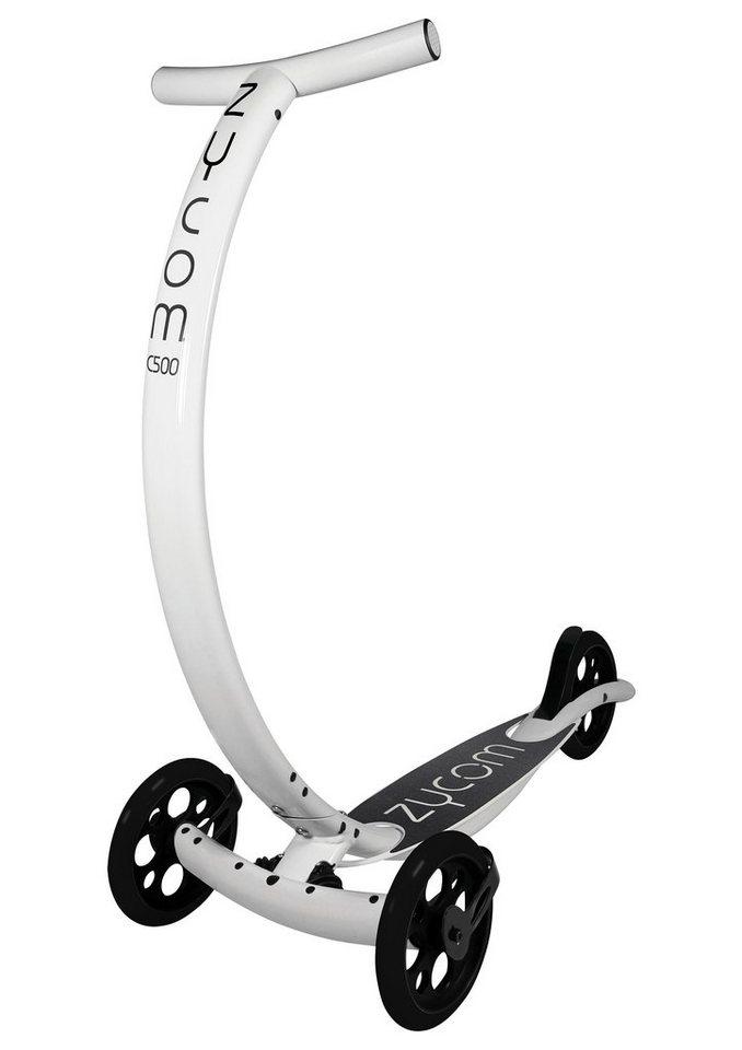 Zycomotion Scooter, »C500 Coast« in weiß-schwarz