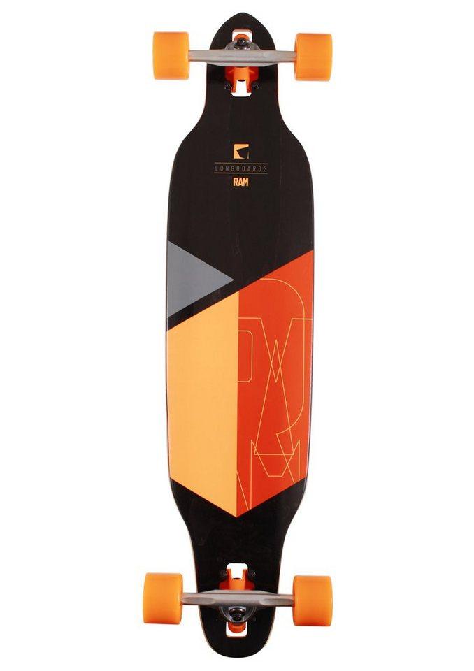 Ram Longboard, »Solitary 2.0« in orange-schwarz