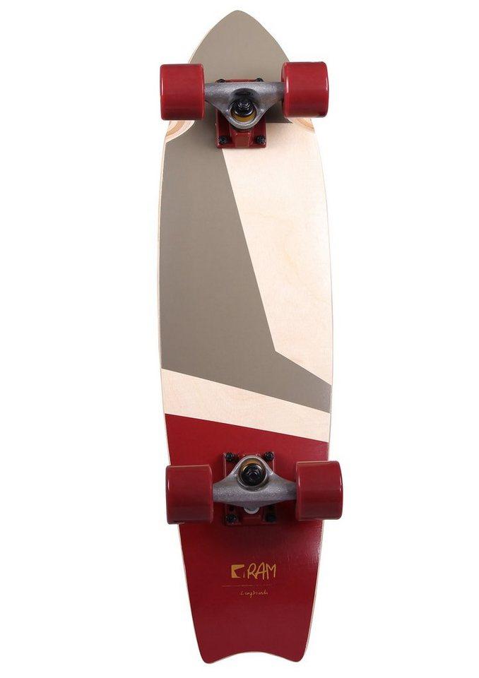 Ram Longboard, »Tshiko« in mehrfarbig