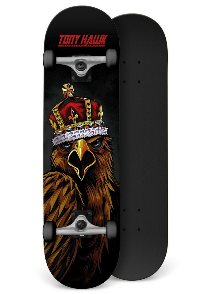 Tony Hawk Skateboard, »King Squak« in schwarz-rot