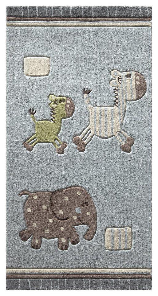 Kinder-Teppich, Esprit, »Kids Collection2«, handgetuftet in blau