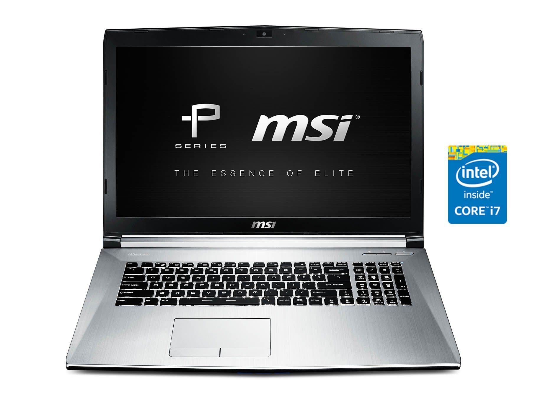 "MSI 17,3"", Intel® i7-5700HQ, 256GB SSD, 1TB, GTX960M »PE70-2QEi716H21BW (001792-SKU1050)«"