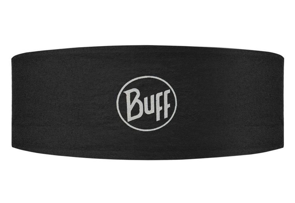 BUFF® Stirnband, aus Coolmax Extreme Gewebe, »Black Reflective« in schwarz