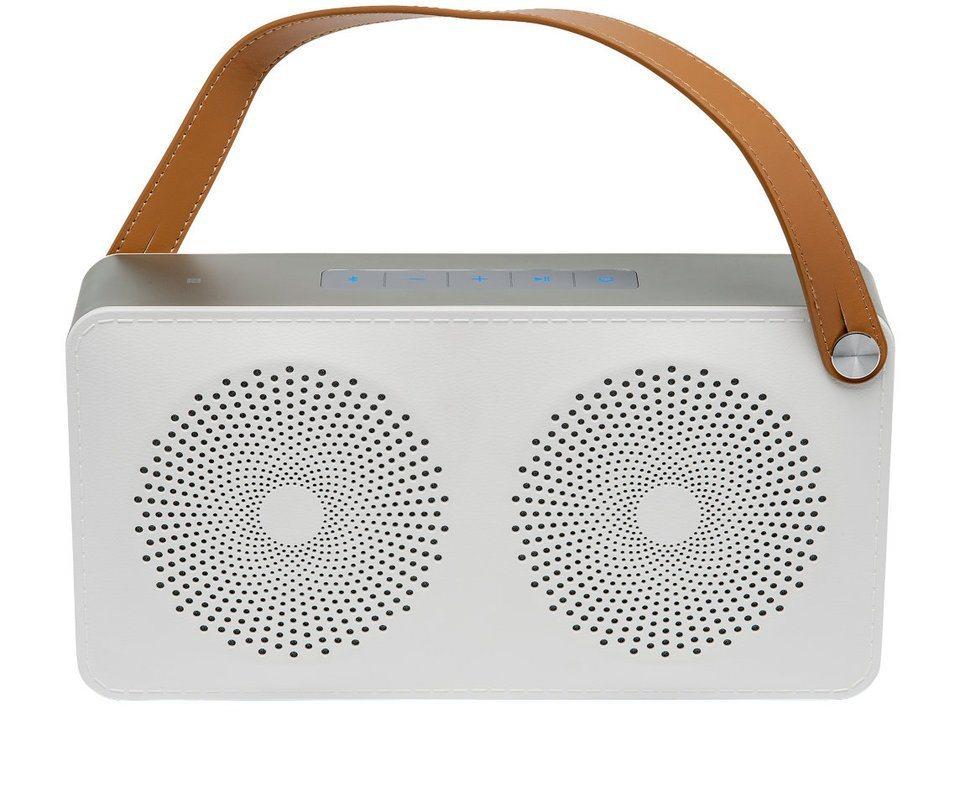 MEDION® Lautsprecher mit Bluetooth Funktion »LIFEBEAT® E65111 (MD 84945)« in weiss
