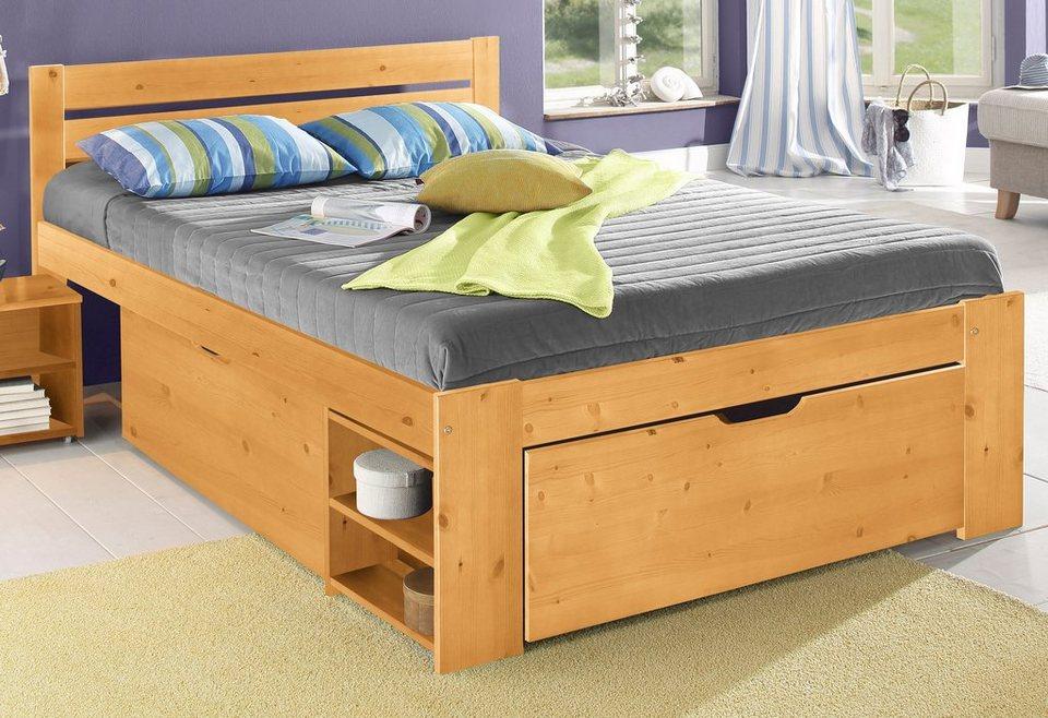 home affaire stauraumbett hansa online kaufen otto. Black Bedroom Furniture Sets. Home Design Ideas