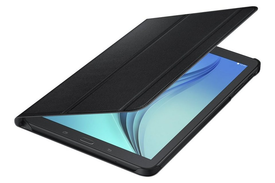 Samsung Tablettasche »Book Cover mit Aufstellfunktion für Tab E« in Schwarz