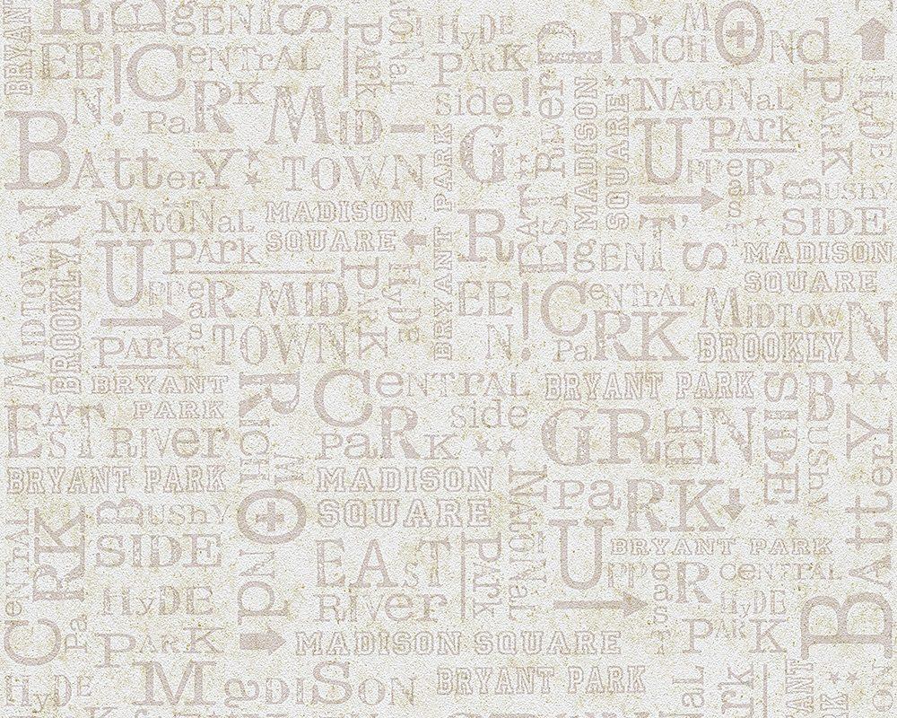 Papiertapete, Livingwalls, »romantische Mustertapete Djooz im Landhausstil«