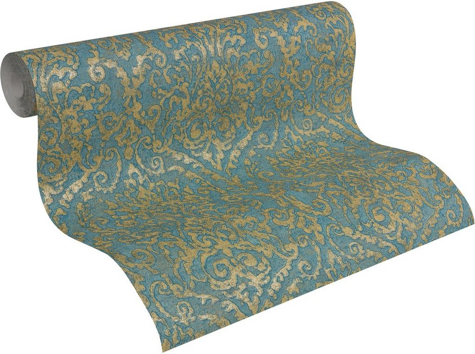 vliestapete livingwalls vintage ornament bohemian burlesque in 4 farben online kaufen otto. Black Bedroom Furniture Sets. Home Design Ideas
