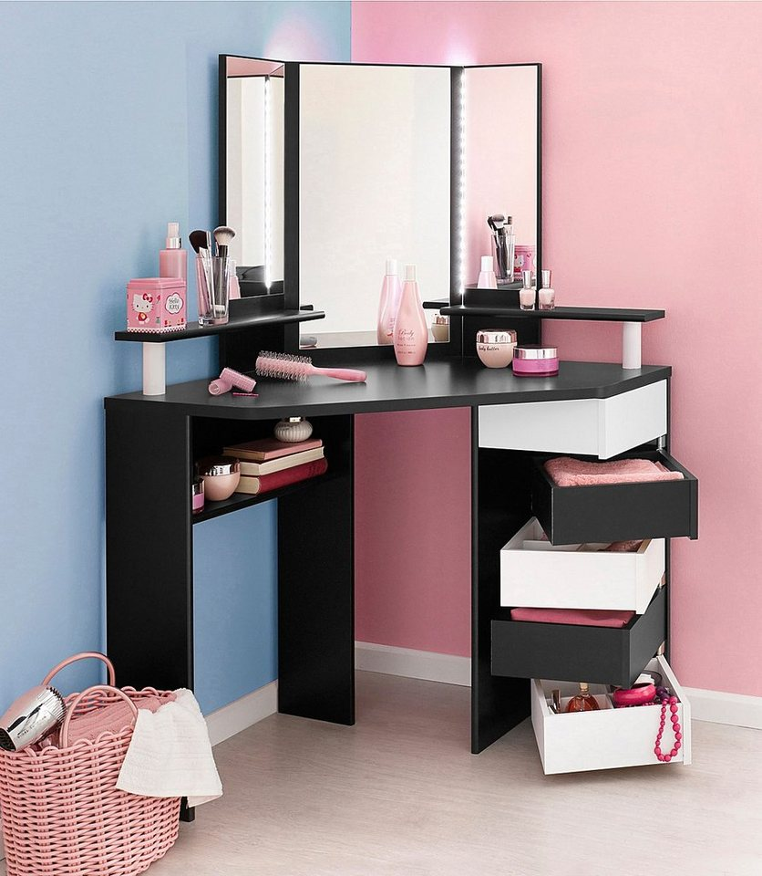 parisot schminktisch volage online kaufen otto. Black Bedroom Furniture Sets. Home Design Ideas