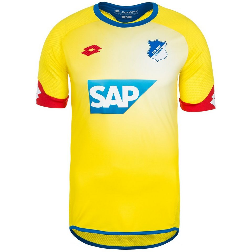 LOTTO 1899 Hoffenheim Trikot Away 2015/2016 Herren in gelb / rot / blau