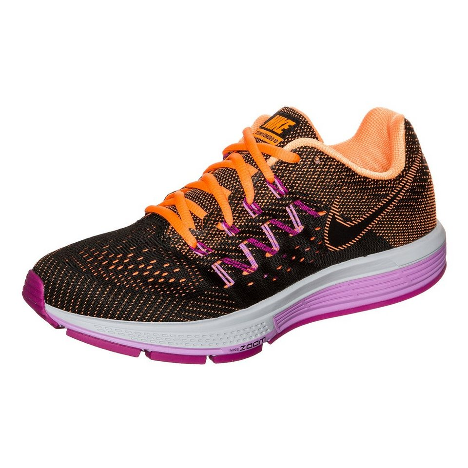 NIKE Air Zoom Vomero 10 Laufschuh Damen in schwarz / orange