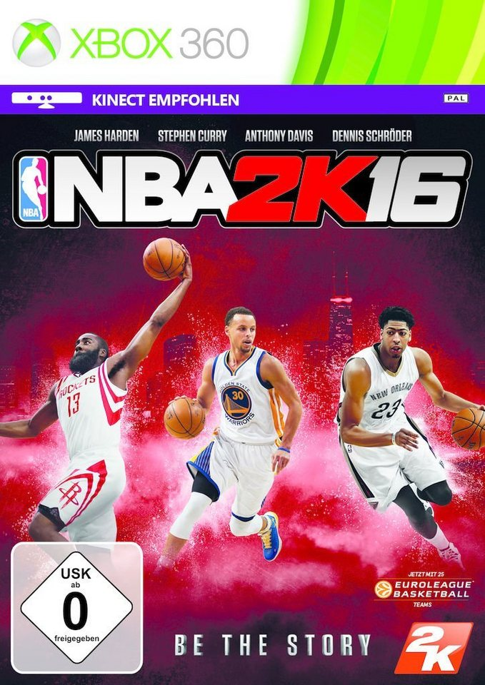 2K XBOX 360 - Spiel »NBA 2K16«