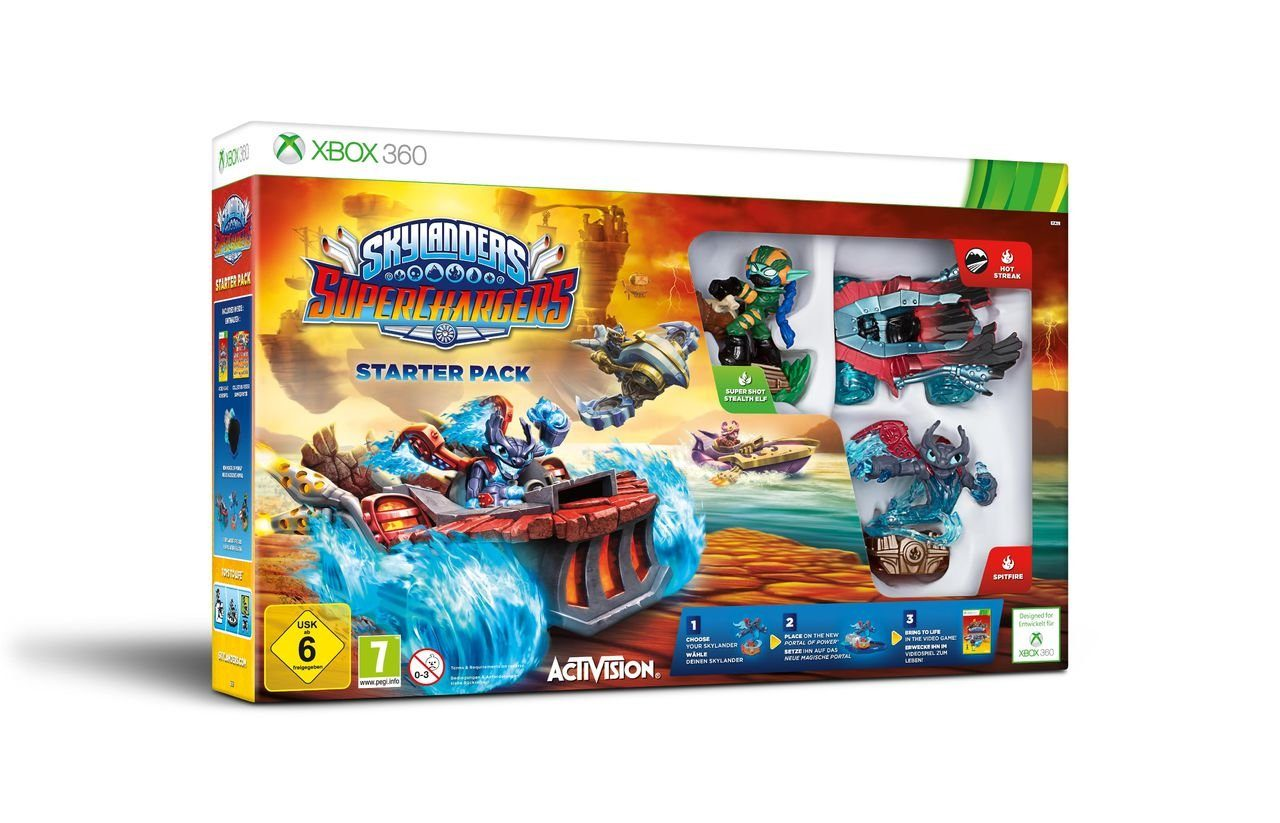 Activision XBOX 360 - Spiel »Skylanders SuperChargers Starter Pack«